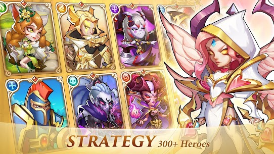 Idle Heroes MOD APK 1.25.0 (VIP 13) [Unlimited Gems/Money/Coins] 2