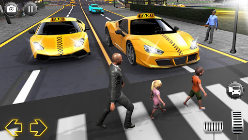 Modern City Taxi Simulator: Car Driving Games 2020 apkpoly screenshots 6