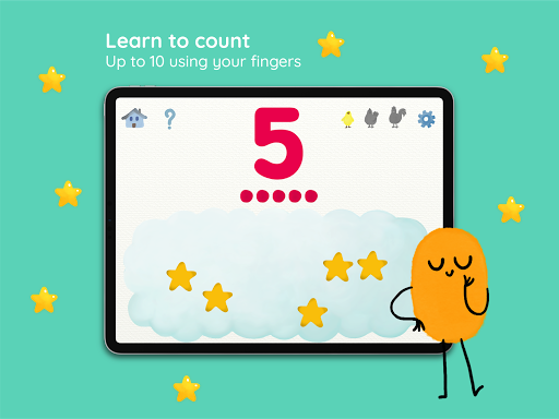 Marbotic 10 Fingers: Math App screenshots 1