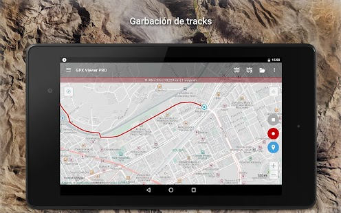GPX Viewer PRO - Tracks, rutas y waypoints Screenshot