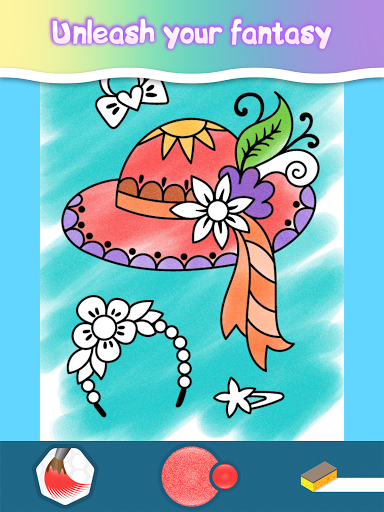 Coloring pages for little princesses  screenshots 22