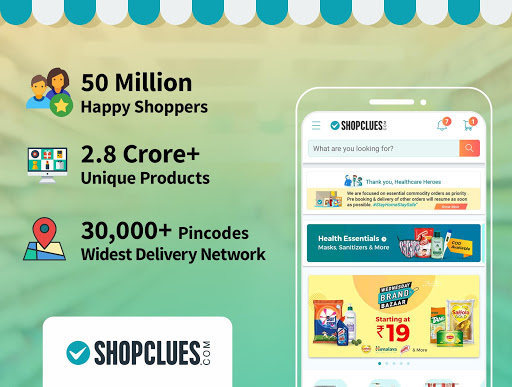 ShopClues: Online Shopping App 3.6.23 Screenshots 1