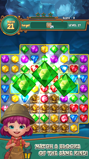 Jewels fantasy:  Easy and funny puzzle game  screenshots 1