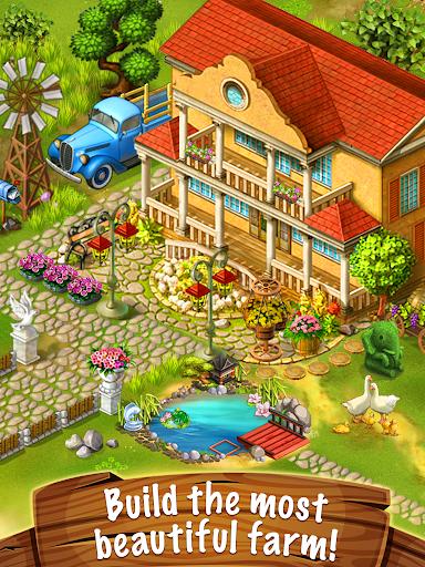 Jane's Farm: Farming Game - Build your Village  screenshots 1