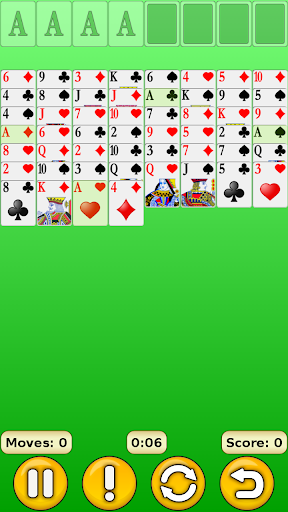 FreeCell 1.17 screenshots 1