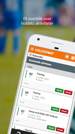 Holdsport - Hurtig tilmelding & kontingentbetaling 6.6.348 screenshots 1