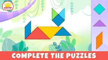 Bibi.Pet Pixel and Tangram Games for Baby