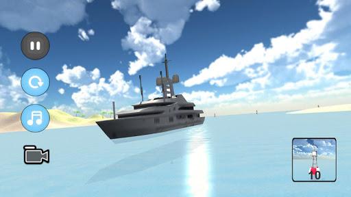 Yacht Ship Sim apklade screenshots 2