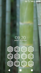Hexanet White - Icon Pack Screenshot