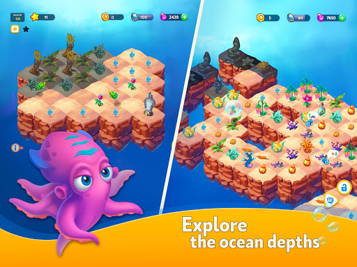 Sea Merge! Fish Aquarium Game & Ocean Puzzle  screenshots 6