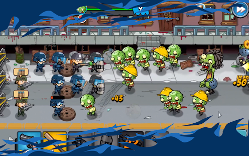 SWAT and Zombies - Defense & Battle Screenshot