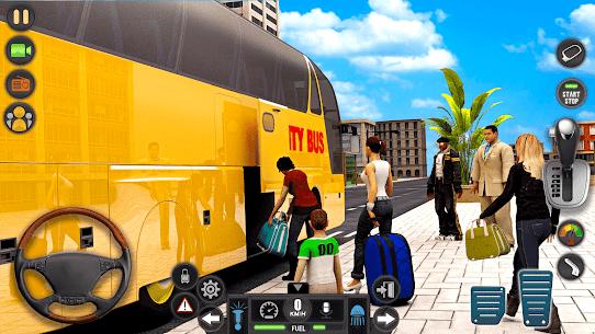 Modern Bus Simulator Drive 3D: New Bus Games Free 6