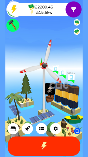 Wind Inc. Tycoon - Idle Game Windmill Simulation  screenshots 8