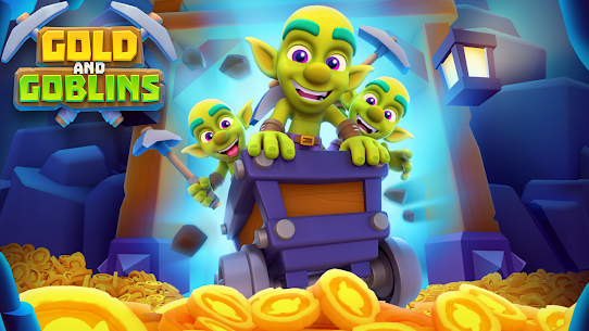 Gold and Goblins: Idle Merger & Mining Simulator Mod Apk 1.8.0 (Money Increases) 1