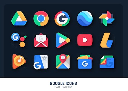 Flora : Material Icon Pack 2.4 (Patched)