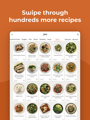 JOW: personalized recipes & groceries android2mod screenshots 10