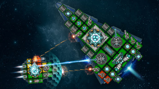 Space Arena: Spaceship game - Build & Fight android2mod screenshots 7