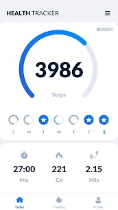 Step Tracker – Pedometer Free & Calorie Tracker 1