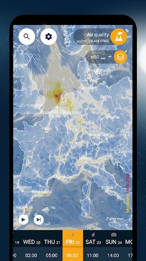 Ventusky: Weather Maps 14.0 Screenshots 8
