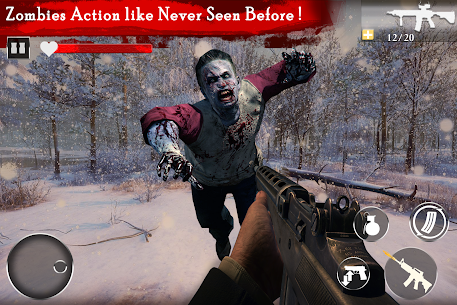Zombie Assault: Undead Apocalypse Survival Mission Hack for Android and iOS 4