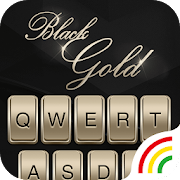 Black Gold Keyboard Theme