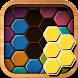 ウッドブロックパズルヘキサ - Androidアプリ