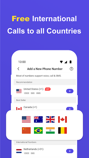 Free Calling App, Text and Phone Call for Free android2mod screenshots 3