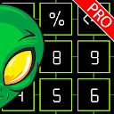 Free Calculator - Green Alien Calc PRO