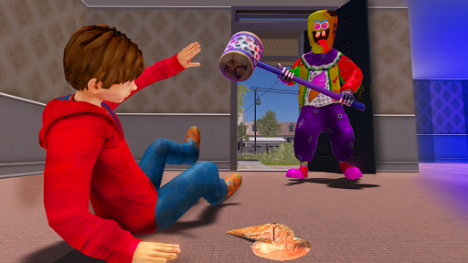Crazy Ice Scream Clown:Freaky Clown Horor Neighbor  screenshots 3