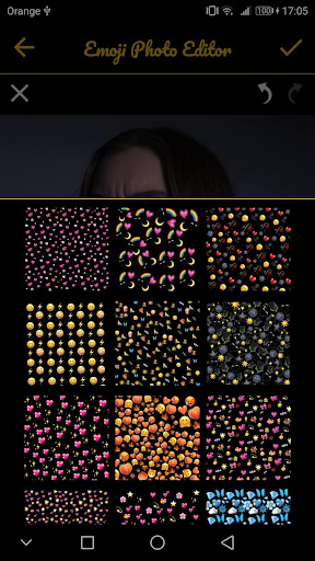 Emoji Background Photo Editor & Emoji Wallpaper ud83dudc9b 6.3 Screenshots 6