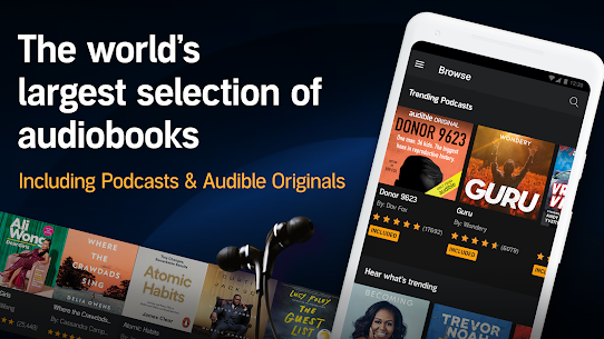 Audible: audiobooks, podcasts & audio stories Apk Download, NEW 2021 1