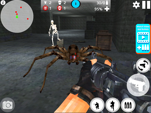 Skeleton Shooting War: Survival 3.9 screenshots 7