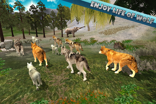 Arctic Wolf Family Simulator: Wildlife Animal Game 2.2 screenshots 18