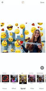 Auto Blur Background Photo Editor Glitch BG Neon Apk app for Android 1