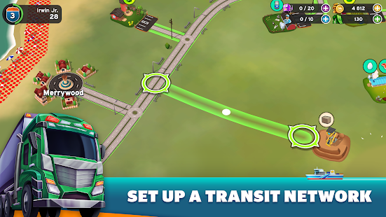 Transit King Tycoon - Seaport and Trucks Screenshot