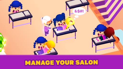 Idle Beauty Salon: Hair and nails parlor simulator  screenshots 4