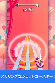 Coaster Rush:病みつきになるエンドレスなランナーゲームのおすすめ画像1