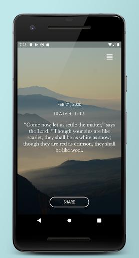 Daily Bible Verse Devotionals  screenshots 1