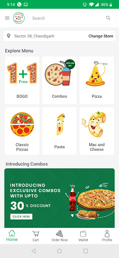 La Pino'z Order Online Pizza 1.7.0 screenshots 1