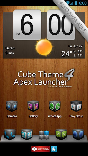 Silver Cube 4 Apex Launcher For PC Windows (7, 8, 10, 10X) & Mac Computer Image Number- 11