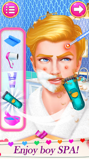 High School Date Makeup Artist - Salon Girl Games 1.1 screenshots 2