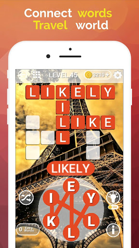 Word Travel:World Tour via Crossword Puzzle Game 3.42 screenshots 3