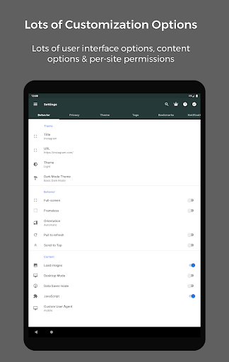 Hermit u2022 Lite Apps Browser 16.5.1 Screenshots 14