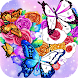 Flower coloring games-Color by number offline - Androidアプリ