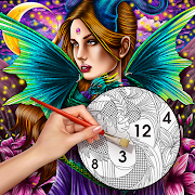 Color By Number Secrets - Coloring book & Stories