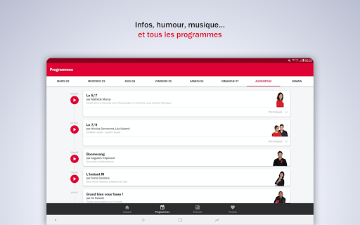 France Inter - radio, podcasts, actu 6.0.0 screenshots 15