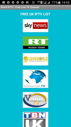 Foto do World IPTV - Free Live TV Channel