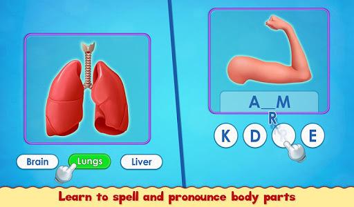 Human Body Parts - Preschool Kids Learning  screenshots 7