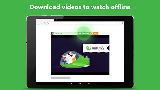 Cu1ed1c Cu1ed1c Browser - Browse web fast & secured 89.0.244 Screenshots 10