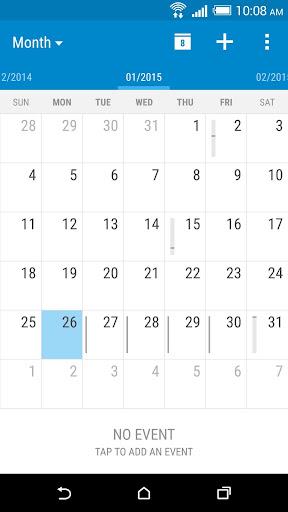 Foto do HTC Calendar